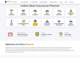 Policyplanner.in thumbnail
