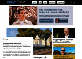 Politiforum.no thumbnail