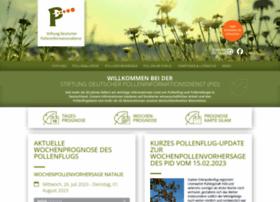 Pollenstiftung.de thumbnail