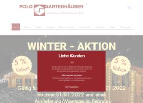 Polo-gartenhaeuser.de thumbnail
