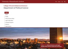 Polsci.umass.edu thumbnail