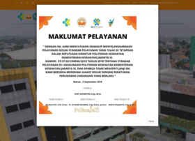 Poltekkesjakarta3.ac.id thumbnail