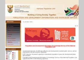 Population.gov.za thumbnail
