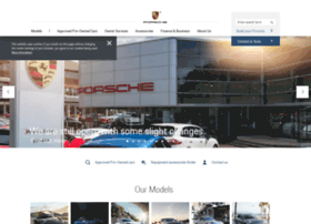 Porschewilmslow.co.uk thumbnail