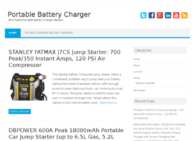 Portablebatterycharger.info thumbnail