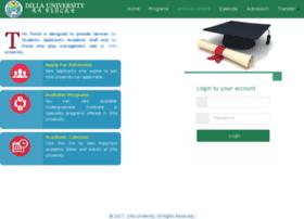 Portal.du.edu.et thumbnail