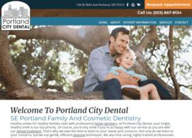 Portlandcitydental.net thumbnail
