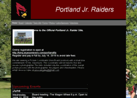 Portlandjrraiders.net thumbnail