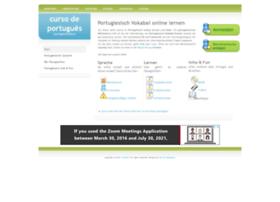 Portugiesischkurs.net thumbnail