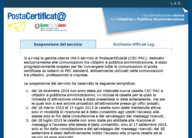 Postacertificata.gov.it thumbnail