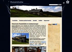 Postalmhuette.at thumbnail