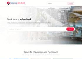 Postcode-adresboek.nl thumbnail