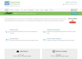Postcodesoftware.co.uk thumbnail