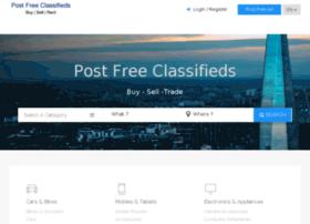 Postfreeclassifieds.in thumbnail