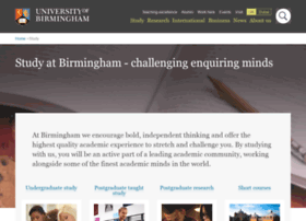Postgraduate.bham.ac.uk thumbnail