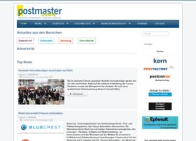 Postmaster-magazin.de thumbnail