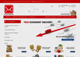 Postpack.co.uk thumbnail
