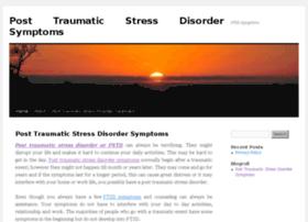 Posttraumaticstressdisordersymptoms.org thumbnail