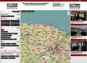 Potier-immobilier.fr thumbnail