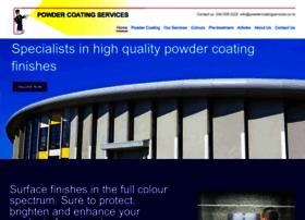 Powdercoatingservices.co.nz thumbnail