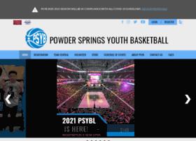 Powderspringsbasketball.org thumbnail