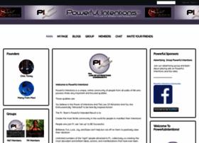 Powerfulintentions.org thumbnail