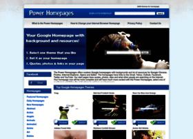 Powerhomepages.com thumbnail