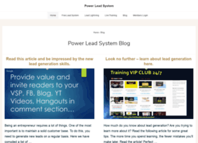 Powerleadsystems.com thumbnail