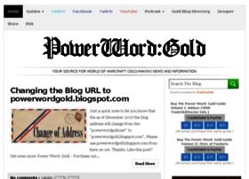 Powerwordgold.net thumbnail