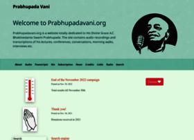 Prabhupadavani.org thumbnail