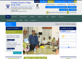 Prafullachandracollege.ac.in thumbnail