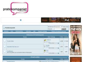 Pratekompaniet.net thumbnail
