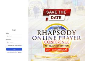 Prayer.rhapsodyofrealities.org thumbnail