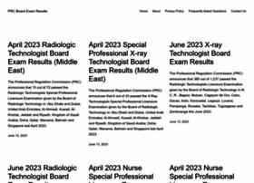Prcboardexamresults.com thumbnail