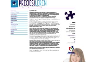 Preciesleren.nl thumbnail