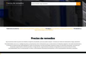 Preciosderemedios.com.ar thumbnail