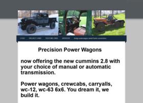 Precisionpowerwagons.com thumbnail