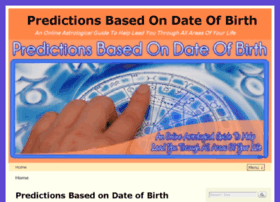 Predictionsbasedondateofbirth.com thumbnail