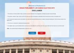 Preelection.in thumbnail