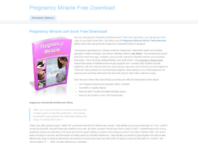 Pregnancymiraclefreedownload.weebly.com thumbnail