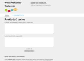 Prekladac-textov.sk thumbnail