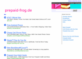 Prepaid-frog.de thumbnail