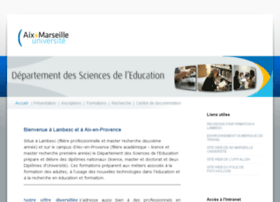 Pres-aix-marseille.fr thumbnail