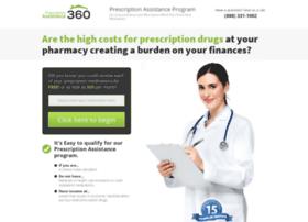 Prescriptionassistance360.org thumbnail