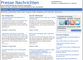 Pressenachrichten.com thumbnail