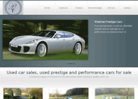 Prestigemotorcars.co.uk thumbnail
