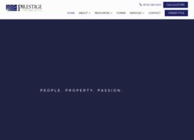 Prestigetitle.net thumbnail