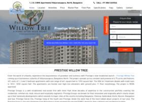 Prestigewillowtree.co.in thumbnail
