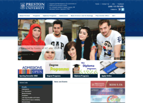 Preston.edu.pk thumbnail