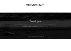 Preventics.com thumbnail